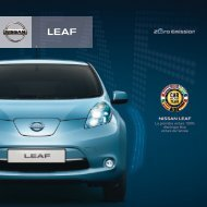 NISSAN LEAF - Garages Nation