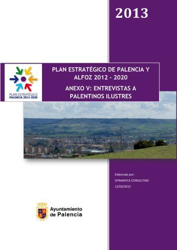 anexo v: entrevistas a palentinos ilustres - Ayuntamiento de Palencia