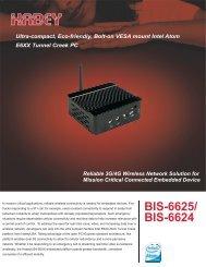 BIS-6625/ BIS-6624 - Habey USA
