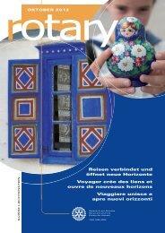 Download des aktuellen Magazins (pdf) - Rotary Schweiz