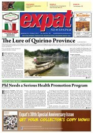 September 25-October 8, 2011 VOL XXVI No. 144 - Expat Travel ...