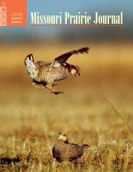 Spring 2008: Volume 29, Number 1 - Missouri Prairie Foundation