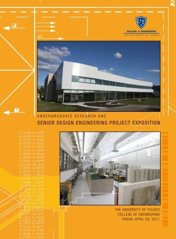 senior design engineering project exposition - College of ...