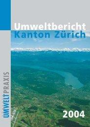 Umweltbericht 2004 komplett (PDF, 4 MB) - Koordinationsstelle für ...