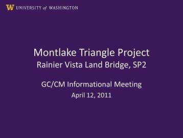 Informational Meeting April 12, 2011