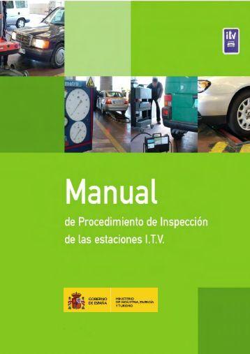 Manual de procedimiento de inspeccion de las estaciones ITV 2012