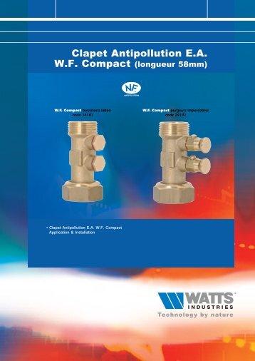clapet WF compact - Watts Industries