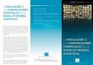 la regulación de las comunicaciones comerciales en ... - AutoControl