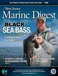 Complete 2013 Marine Issue of the Fish and Wildlife DIGEST
