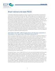 Brazil national and state REDD [PDF] - Environmental Defense Fund