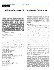 Malignant Struma Ovarii Presenting as a Vaginal Mass