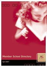 Member School Directory - Association of Independent Schools of SA
