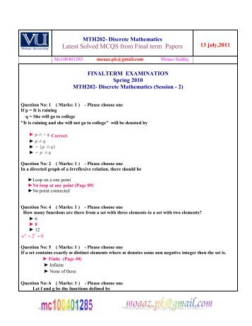cs504 midterm solved paper All vu cs midterm past papers, all cs, all computer science past papers  waqar  siddhu files download midterm solved latest papers download cs101 –  introduction to computing  cs504 – software engineering – 1.