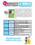 1. MARUGOTO A1 Module 2 Flyer - The Japan Foundation, Manila - Page 2