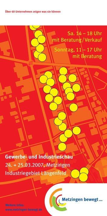Gewerbe- und Industrieschau 2007 - Metzingen bewegt