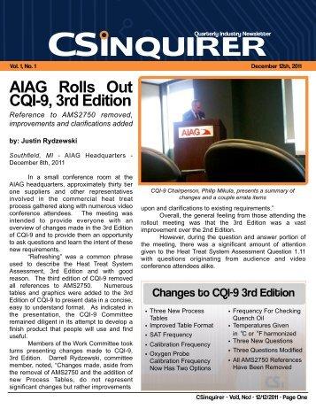Cqi 9 3rd edition errata sheet | heat treating | thermocouple.