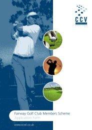Golf Club proposal form - Towergate Underwriting