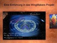 Eine Einführung in das WingMakers Projekt - Meine Wahrheit
