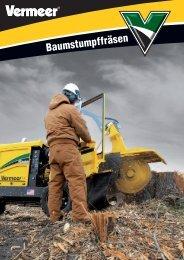 Gesamtübersicht Baumstumpffräsen - Vermeer Deutschland GmbH