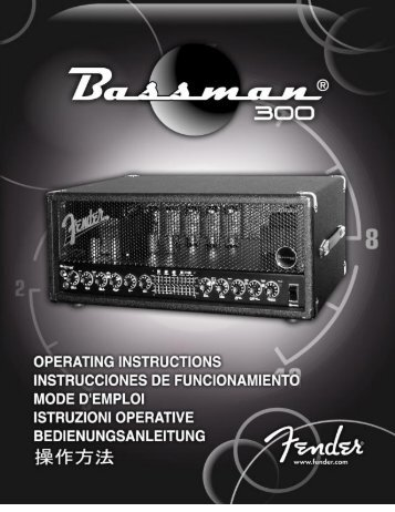 !057331A-BM 300-manual.qxd - Fender