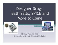 Designer Drugs: Bath Salts, SPICE and More to Come