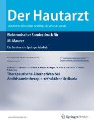 Elektronischer Sonderdruck für Therapeutische Alternativen bei ...