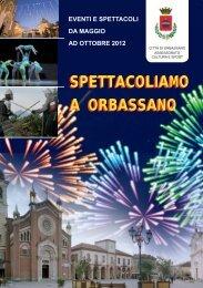 ottobre 2012 - Comune di Orbassano