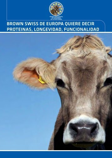 Brown Swiss_All languages.indd - European Brown Swiss Federation