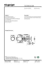 10mm ROUND LED LAMP Features Description Package Dimensions