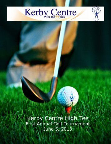 Kerby Centre High Tee