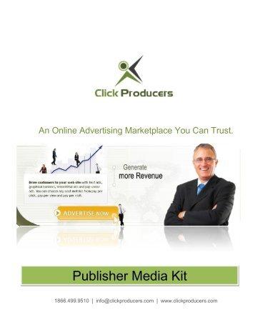 Publisher Media Kit - Internet marketing :: pay per click online ...