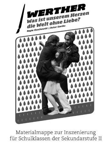 Die Leiden des jungen Werther - Junges Schauspielhaus Zürich