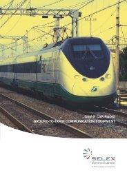 gsm-r cab radio ground-to-train communication equipment