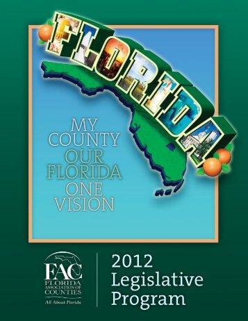 2012 Legislative Program - Florida Association of Counties