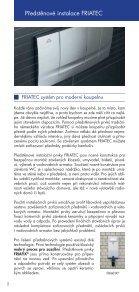 Prospekt předstěnové instalace FRIATEC - GLYNWED sro - Page 2