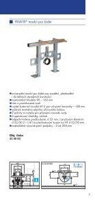 Prospekt předstěnové instalace FRIATEC - GLYNWED sro - Page 5