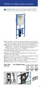 Prospekt předstěnové instalace FRIATEC - GLYNWED sro - Page 7