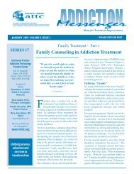 Family Treatment - the ATTC Network