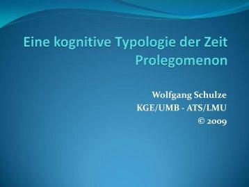 Die Zeit ist - Wolfgang Schulze