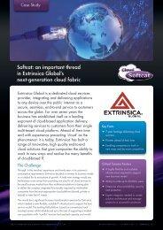 Extrinsica Global's next-generation cloud fabric Extrinsica ... - Softcat
