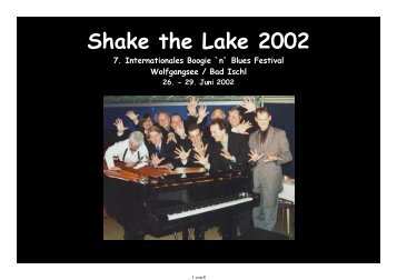 Shake the Lake 2002