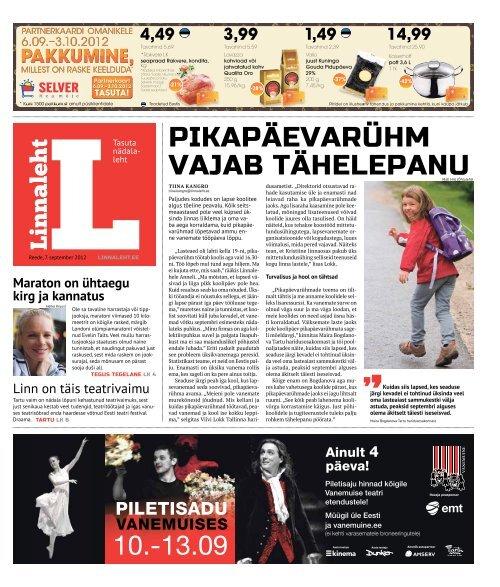 Tartu - Linnaleht