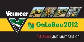 Mailing Galabau 2012.indd - Vermeer Deutschland GmbH