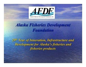 Alaska Fisheries Development Foundation - Southeast Conference