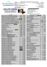 Download PC Quickbuys Pricelist - June 2013 - AffordableCebu