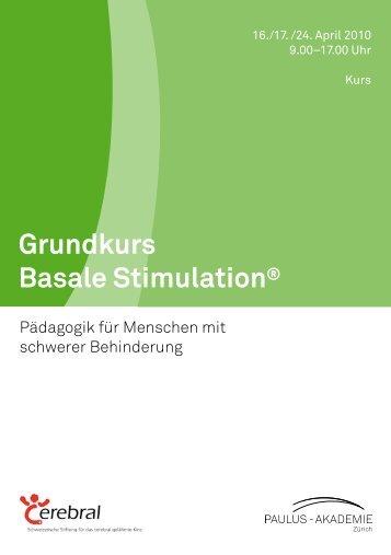 Grundkurs Basale Stimulation®