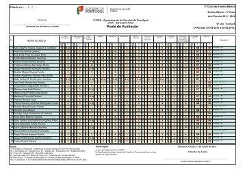 9ºB - agrupamento de escolas da boa água