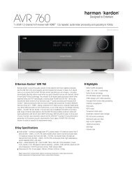 AVR 760 (English EU) - Harman Kardon