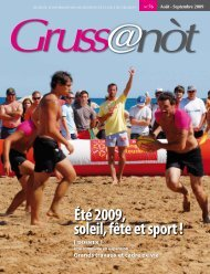 Lo Grussanòt Août 2009 PDF - Gruissan