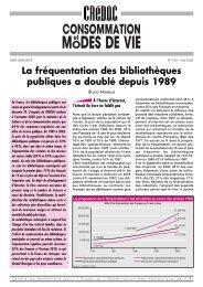 La fréquentation des bibliothèques publiques a doublé depuis 1989